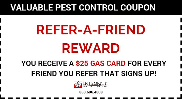 Integrity Pest Elimination - Refer Friend Coupon